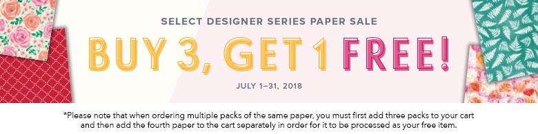 B3G1 Free Paper Sale