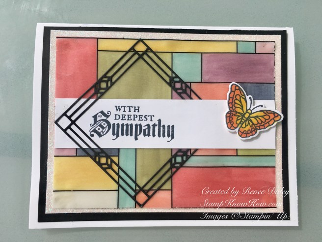 Painted Glass bundle by Stampin' UP!