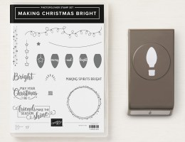 Making Christmas Bright Bundle Giveaway sponsored by StampKnowHow.com