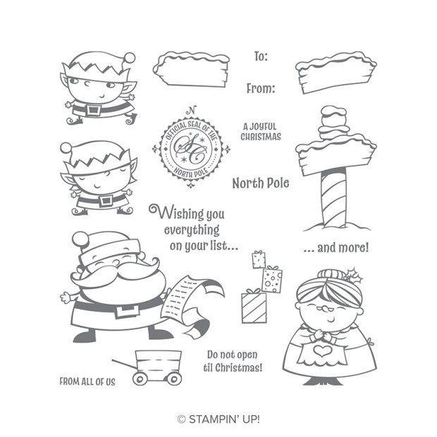 Signs of Santa Stamp Set by Stampin' Up!