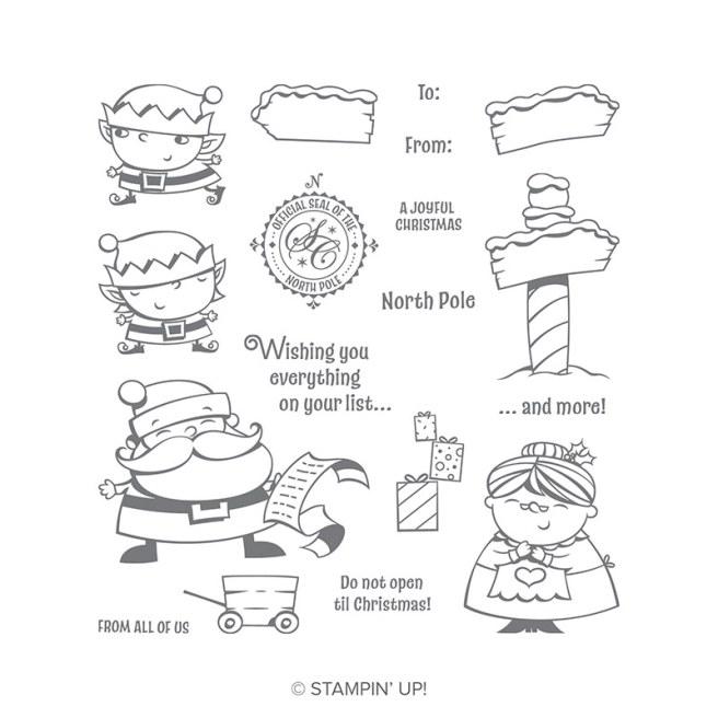 Signs of Santa Stamp Set by Stampin' Up!
