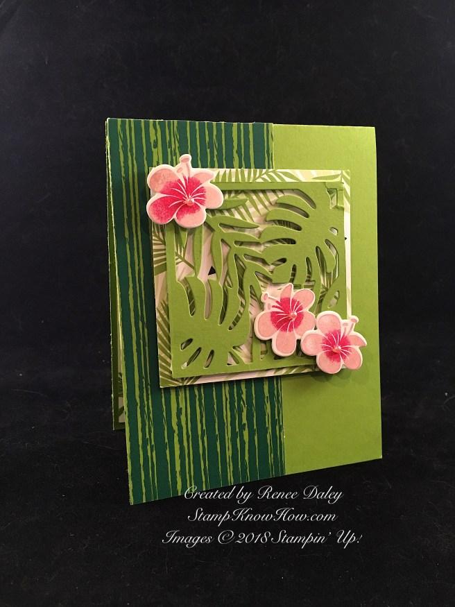 Tropical Chic Birthday Card
