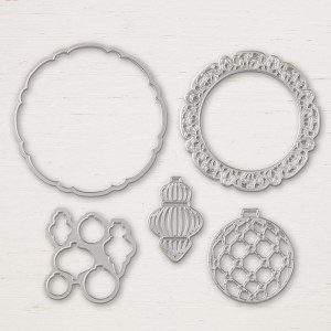 Detailed Bauble Thinlits by Stampin' Up
