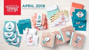 April 2018 Paper Pumpkin Kit by Stampin' Up!