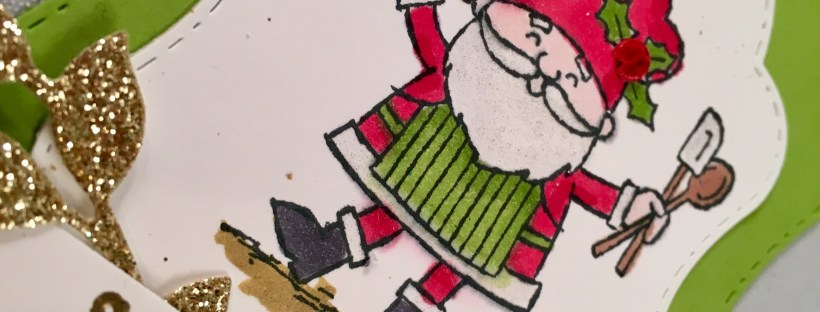 So Santa Gift Tag made with Stampin' Up products