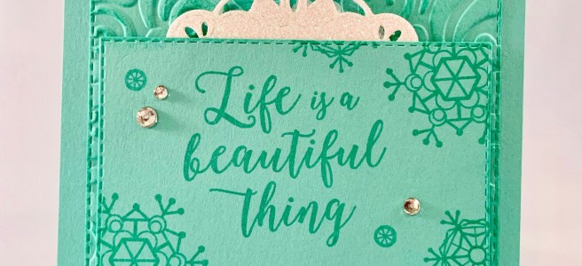 Colorful Seasons Encouragement Card