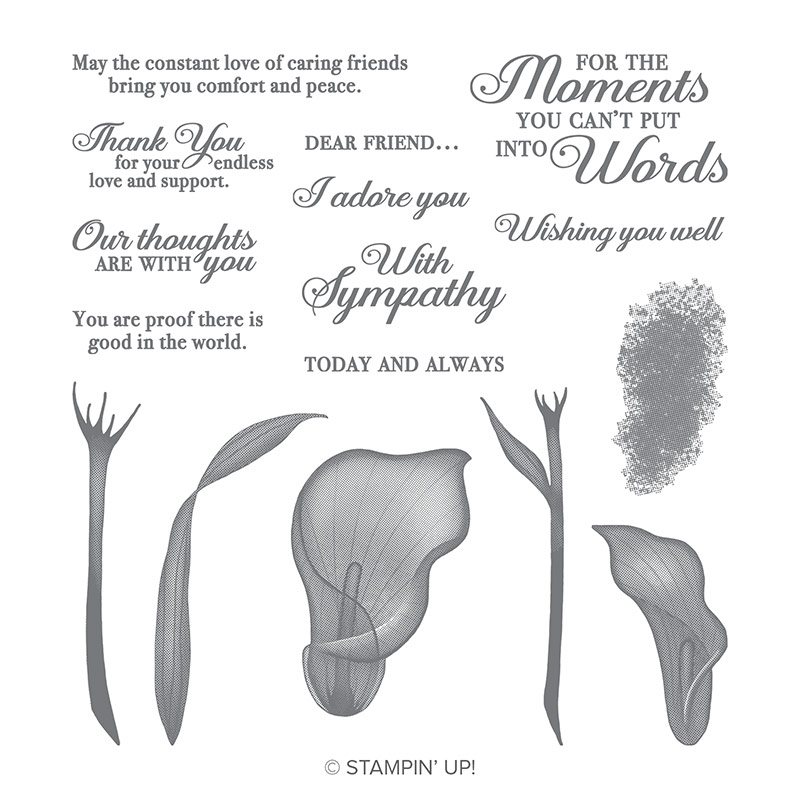 Lasting Lily Stamp Set by Stampin' Up!