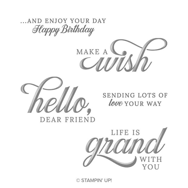 Life is Grand Stamp Set by Stampin' Up!