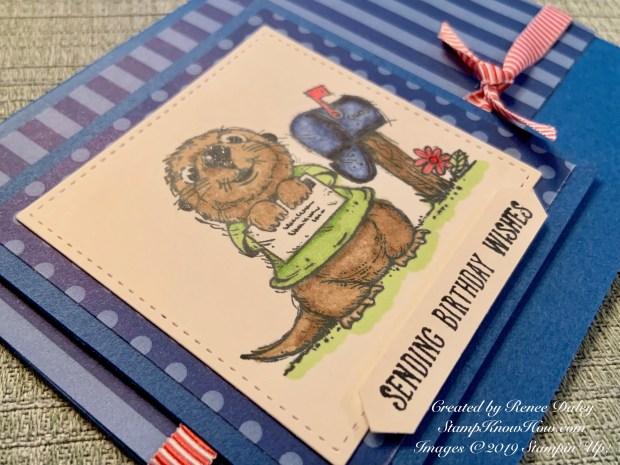 Postcard Pals Birthday Card
