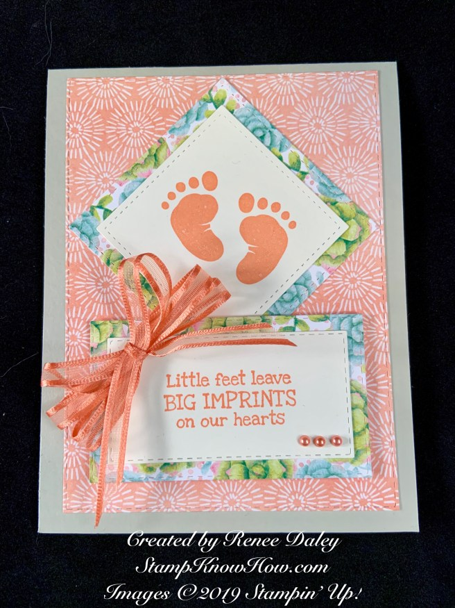 First Steps Baby Card