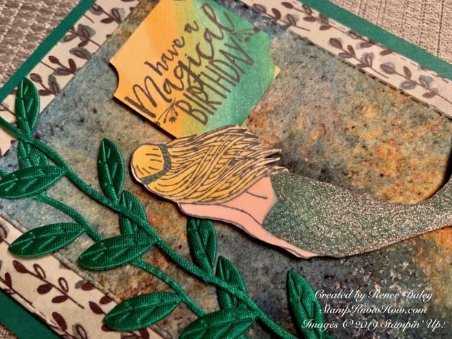 Magical Mermaid Birthday Card