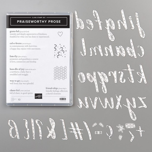 Praiseworthy Prose Bundle by Stampin' Up!