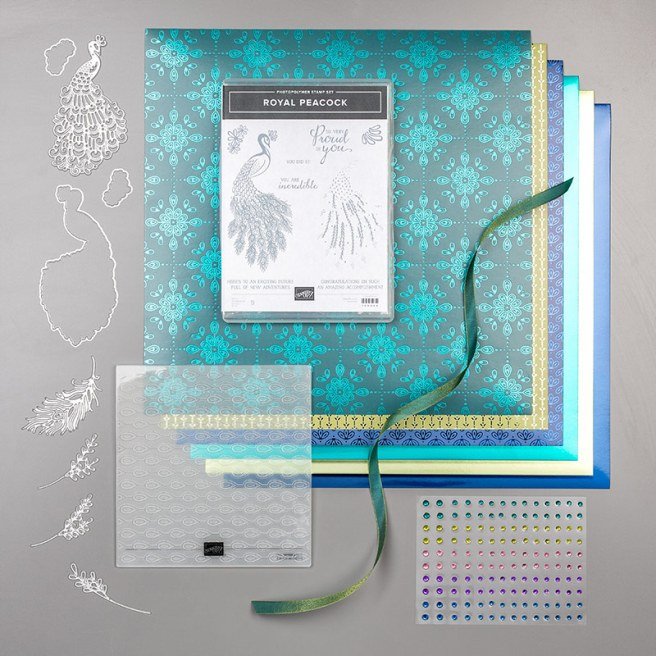 Noble Peacock Suite by Stampin' Up!