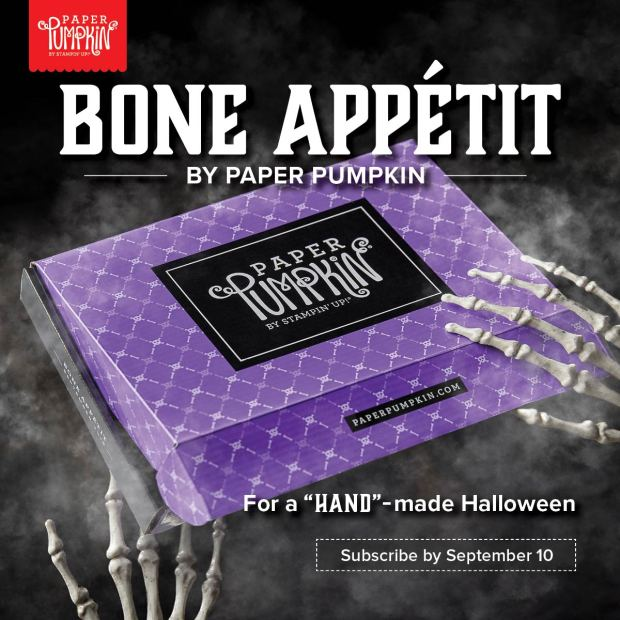Bone Appetit Paper Pumpkin subscription box - order bay September 10th to get yours!