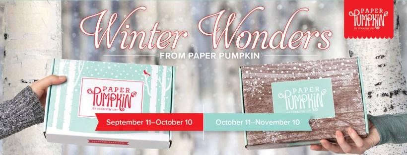 Winter Wonders Paper Pumpkin Kit