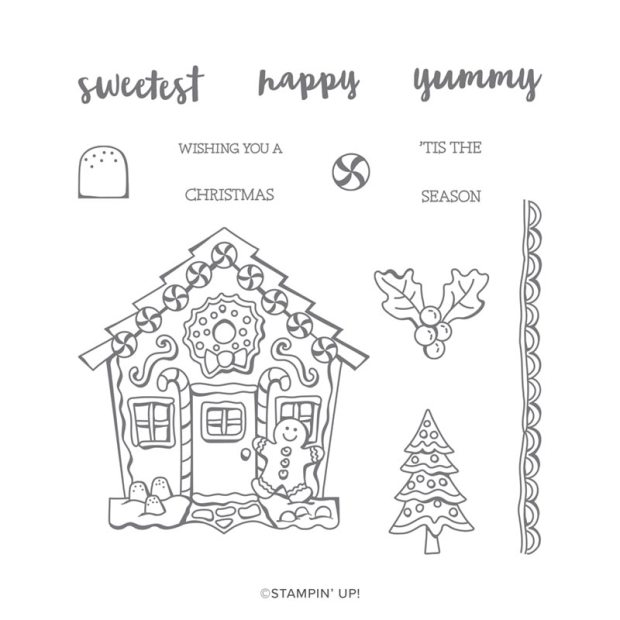Yummy Christmas Stamp Set by Stampin' Up!