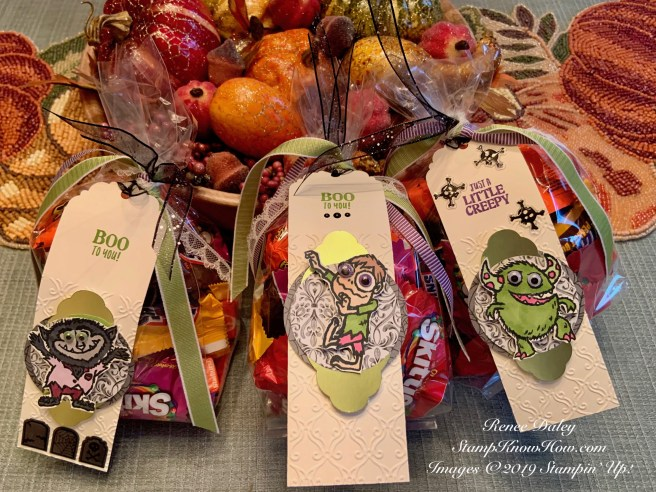 Boo To You tag for Halloween treat bag