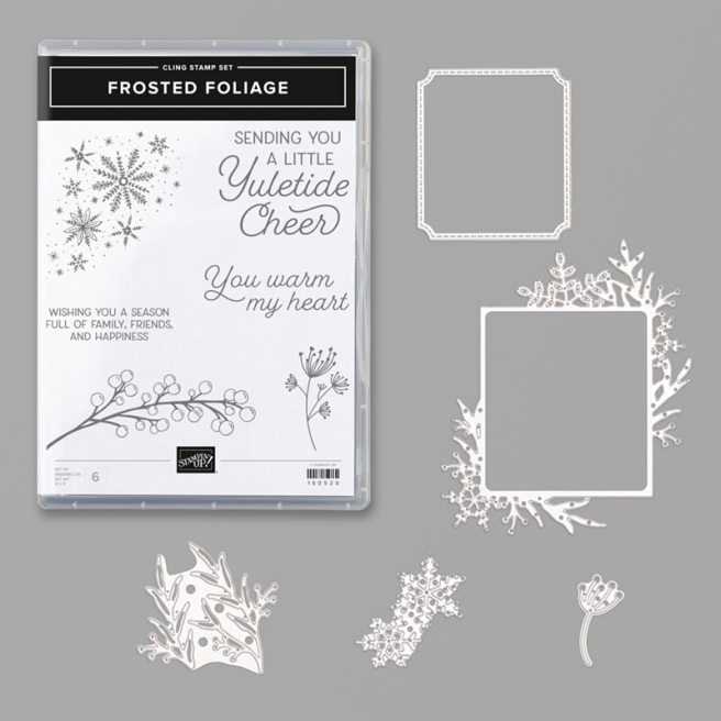 Frosted Foliage Bundle by Stampin' Up
