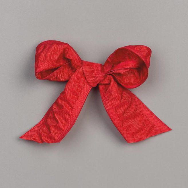 """Real Red 1"""" Ruched Ribbon by Stampin' Up"""