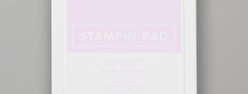Purple Posy Ink Pad by Stampin' Up discontinued