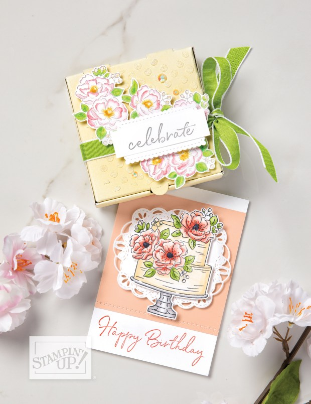 Happy Birthday to You Sale-a-Bration Stamp Set Sample image