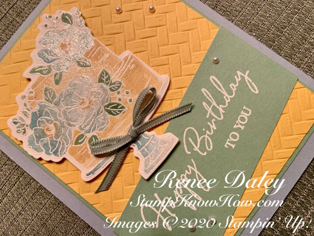 Close up image of Happy Birthday to You Card
