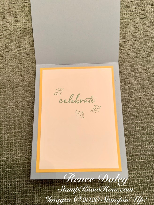 Inside View of the Happy Birthday to You Card