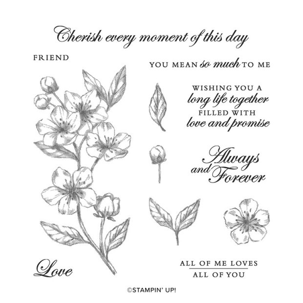 Forever Blossoms Stamp Set by Stampin' Up