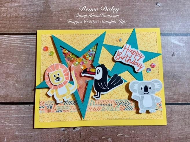 Birthday Bonanza Shaker Card image