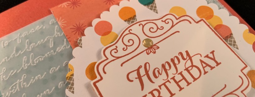 Layered with Kindness Birthday Card Closeup image