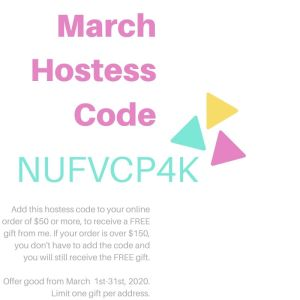 StampKnowHow.com March 2020 Hostess Code