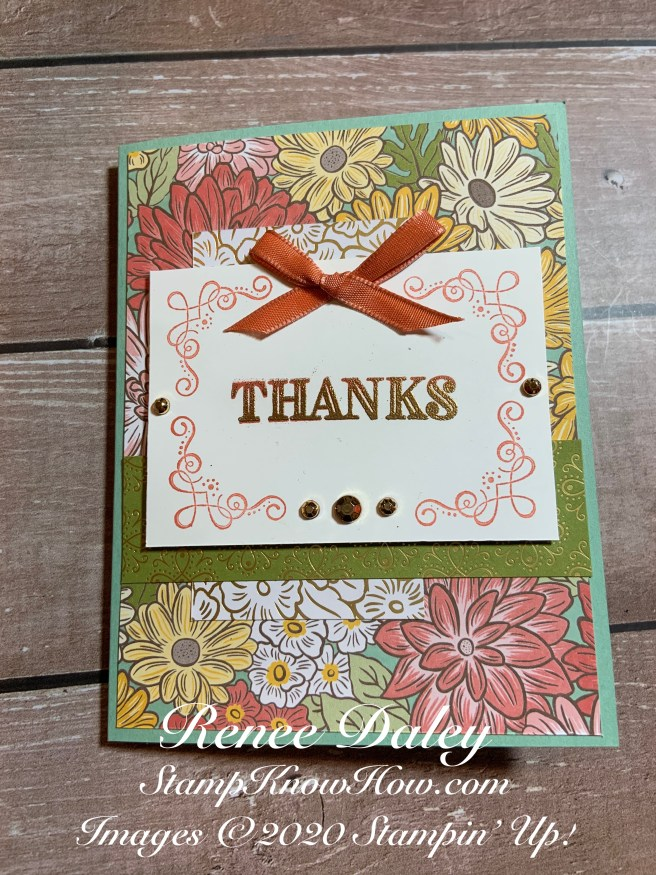 Stampin' UP Ornate Garden Suite