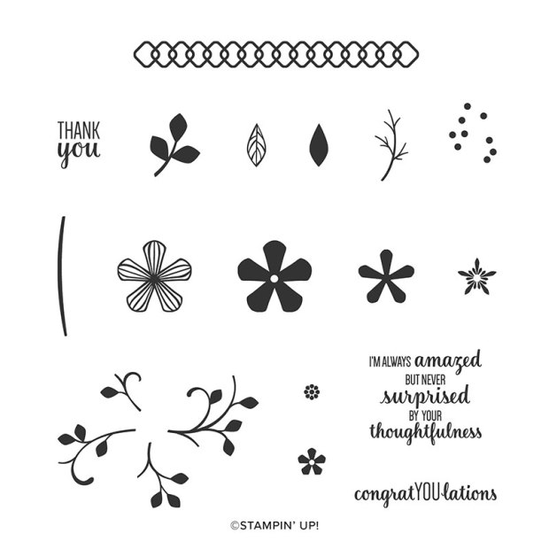 Thoughtful Blooms Stamp Set by Stampin' Up for Sale-a-bration 2020