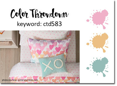 Color Throwdown Challenge #583