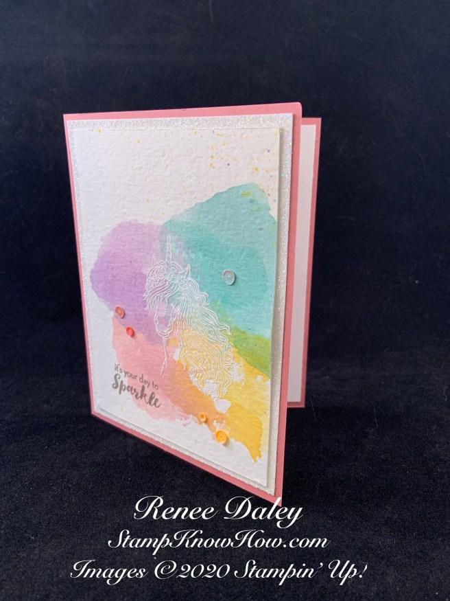 Leave a Little Sparkle Birthday Card