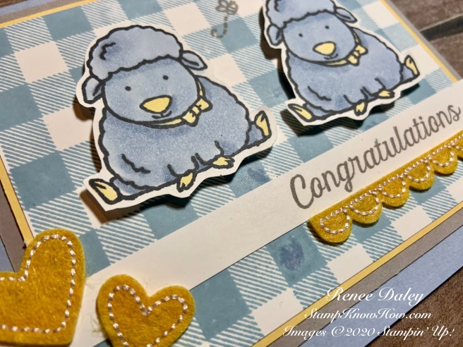 Welcome Easter Baby Card Close-up image