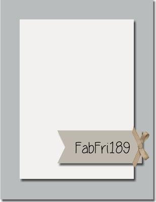 Fab Friday Challenge #189
