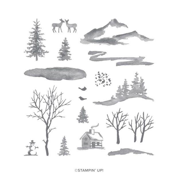 Stampin' Up Snow Front Stamp Set