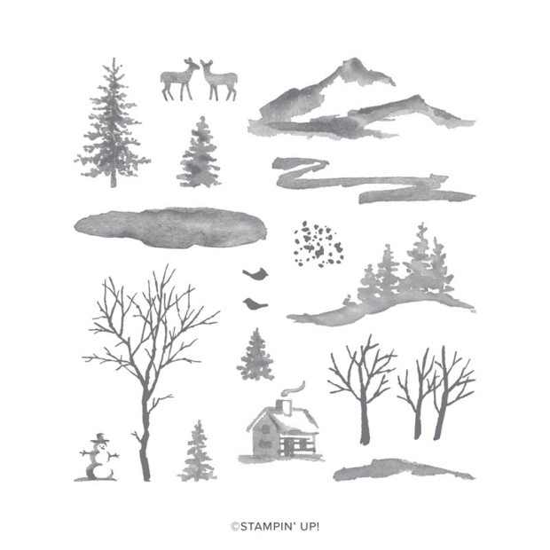 Stampin' Up Snow Front Stamp Set
