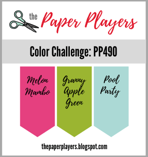 The Paper Players Challenge #490