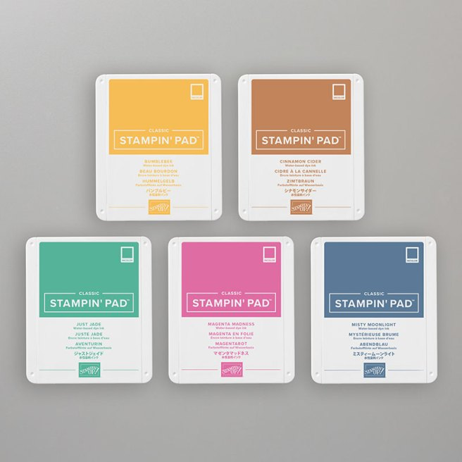 2020-2022 Stampin Up In Color Ink Pad Bundle