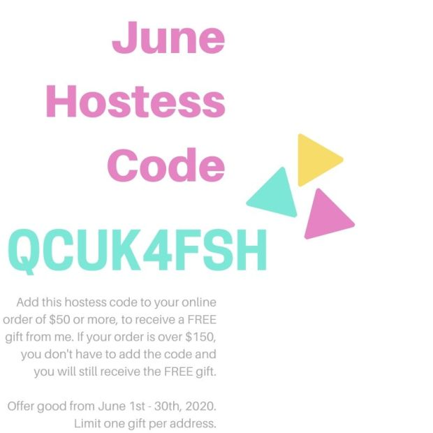 StampKnowHow.com June 2020 Hostess Code