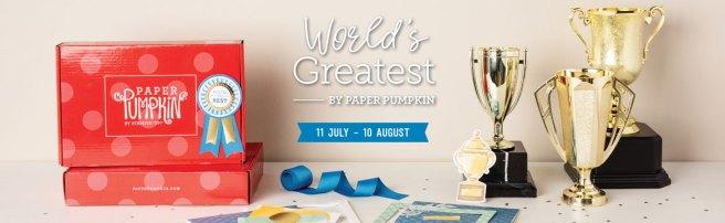 Stampin Up Paper Pumpkin Kit for August 2020 Header Image