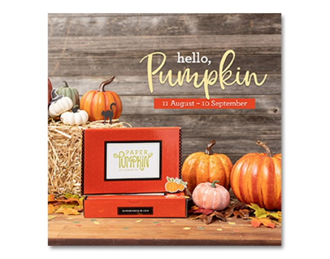 Stampin Up September 2020 Paper Pumpkin