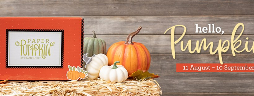 September 2020 Paper Pumpkin Kit
