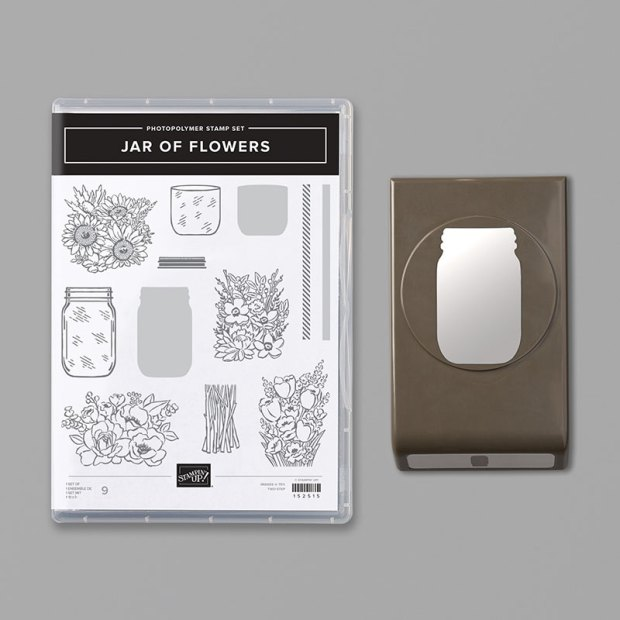 Stampin Up Jar of Flowers Bundle