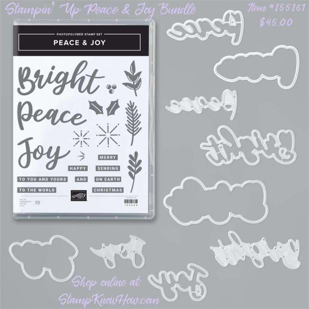 Stampin Up Peace & Joy Bundle