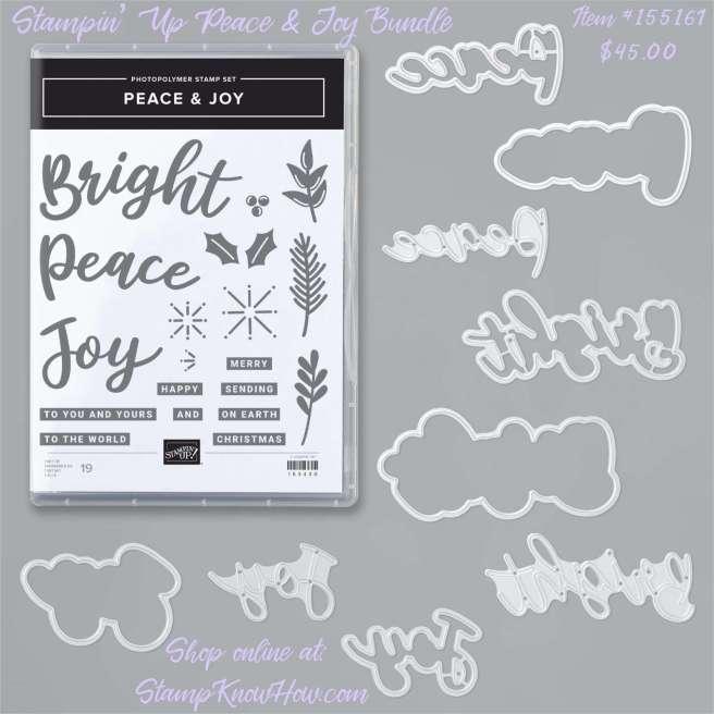 Stampin Up Peace & Joy Bundle
