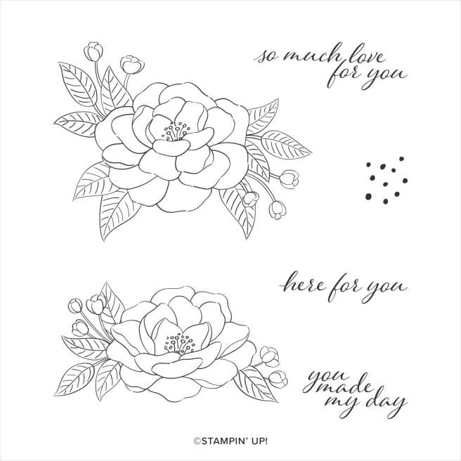 Stampin Up So Much Love Stamp Set