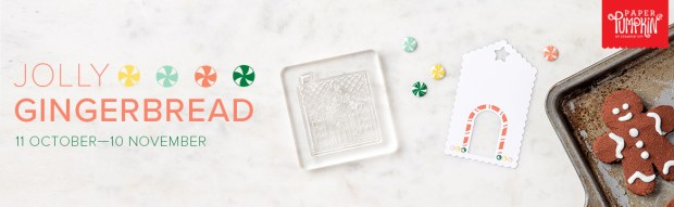 Jolly Gingerbread Paper Pumpkin Kit for November 2020